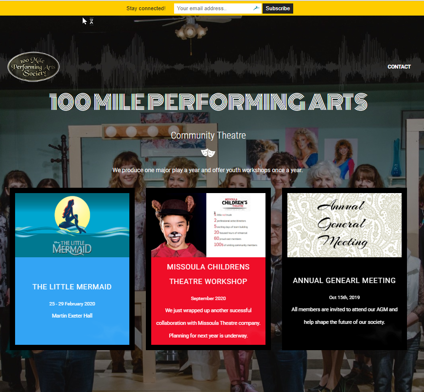 100 Mile Performing Arts