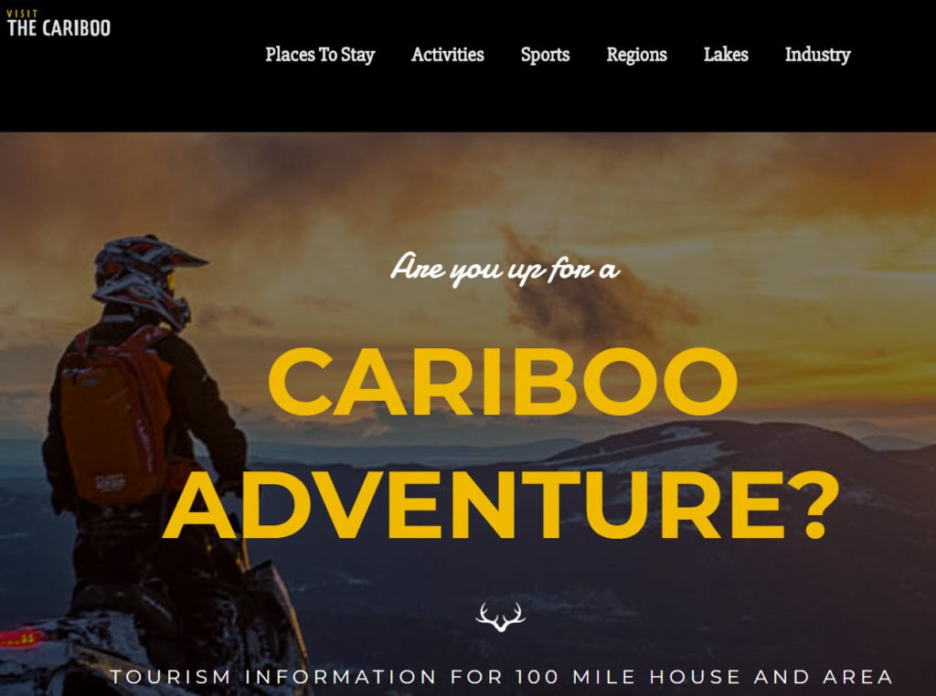 Visit The Cariboo We Made This Site
