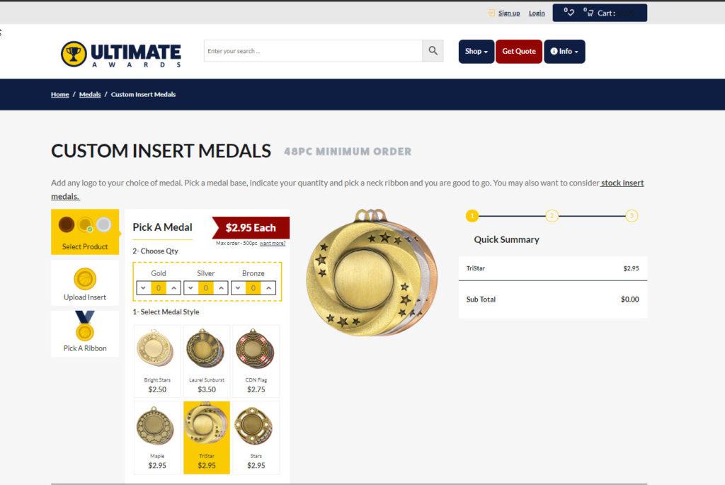 custom medal builder